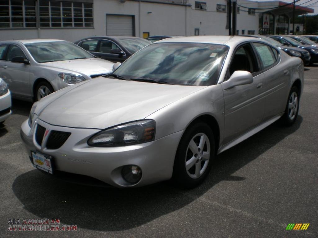 2006 Pontiac Grand Prix Sedan In Liquid Silver Metallic 310505 All American Automobiles