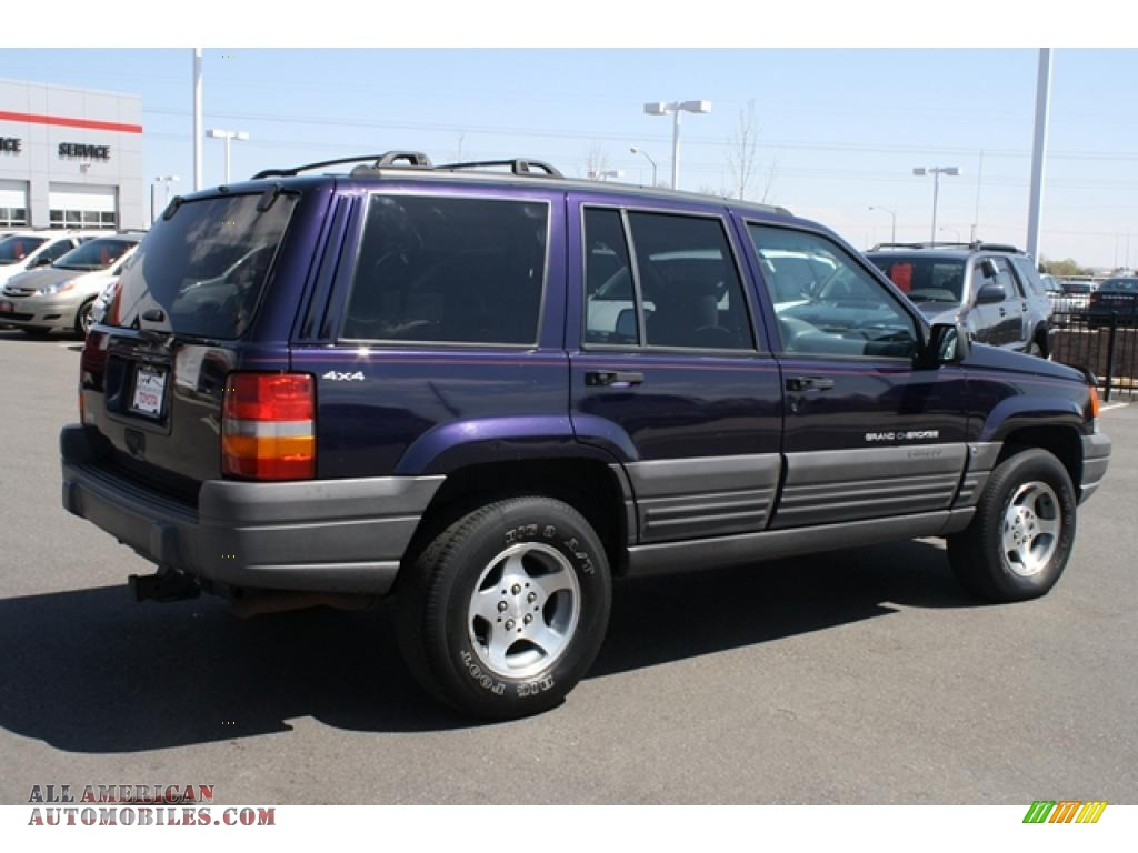 1997 jeep grand cherokee laredo 4x4 in deep amethyst pearl photo 2 634130 all american. Black Bedroom Furniture Sets. Home Design Ideas