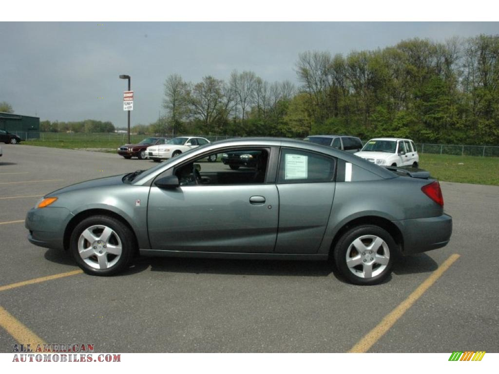 2007 saturn ion 2 quad coupe in cypress green photo 13. Black Bedroom Furniture Sets. Home Design Ideas
