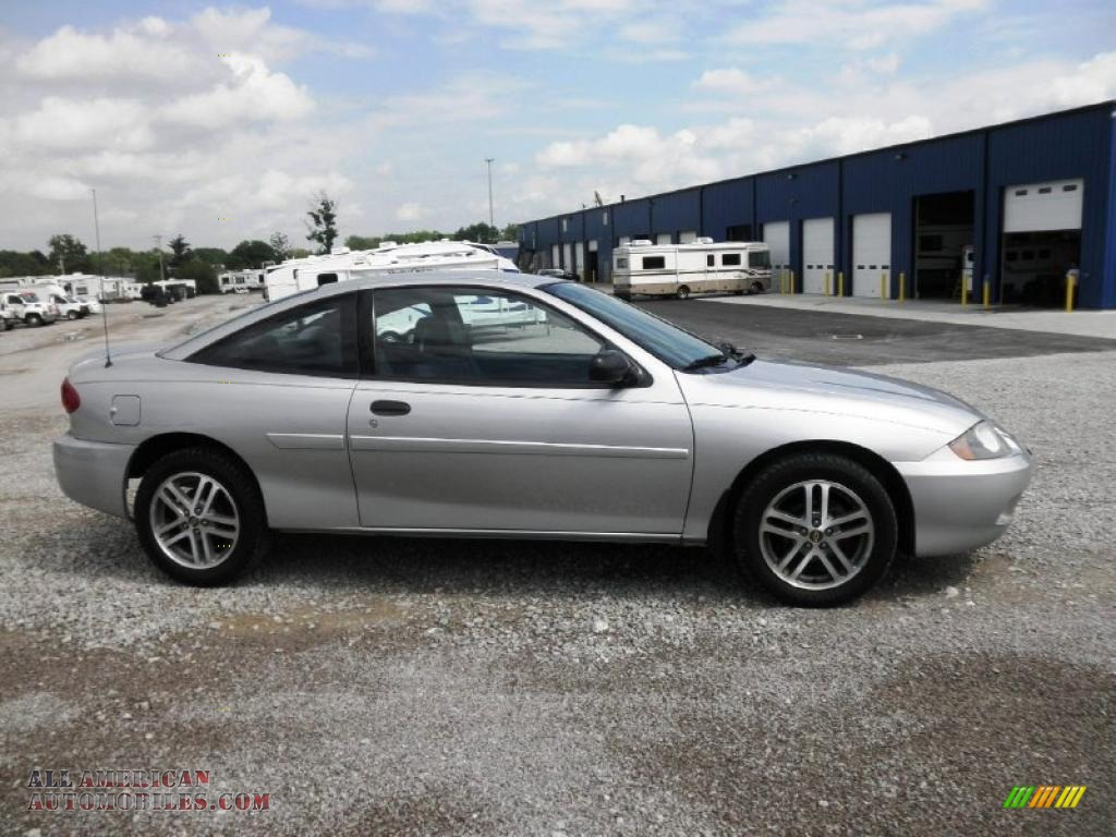2004 chevrolet cavalier coupe in ultra silver metallic 268306 all. Cars Review. Best American Auto & Cars Review