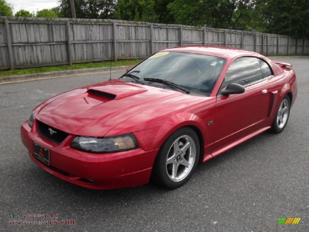 Honda Of Gastonia >> 2002 Ford Mustang GT Coupe in Laser Red Metallic photo #2 - 157565   All American Automobiles ...
