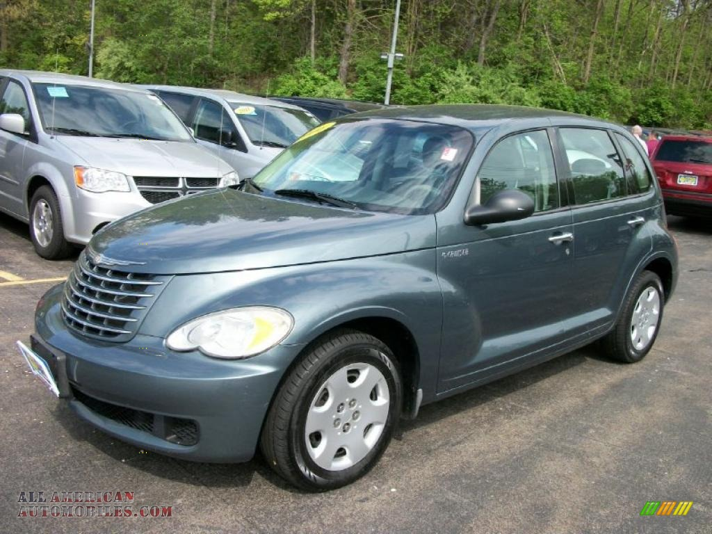 2006 Chrysler Pt Cruiser In Magnesium Green Pearl 221480 All American Automobiles Buy