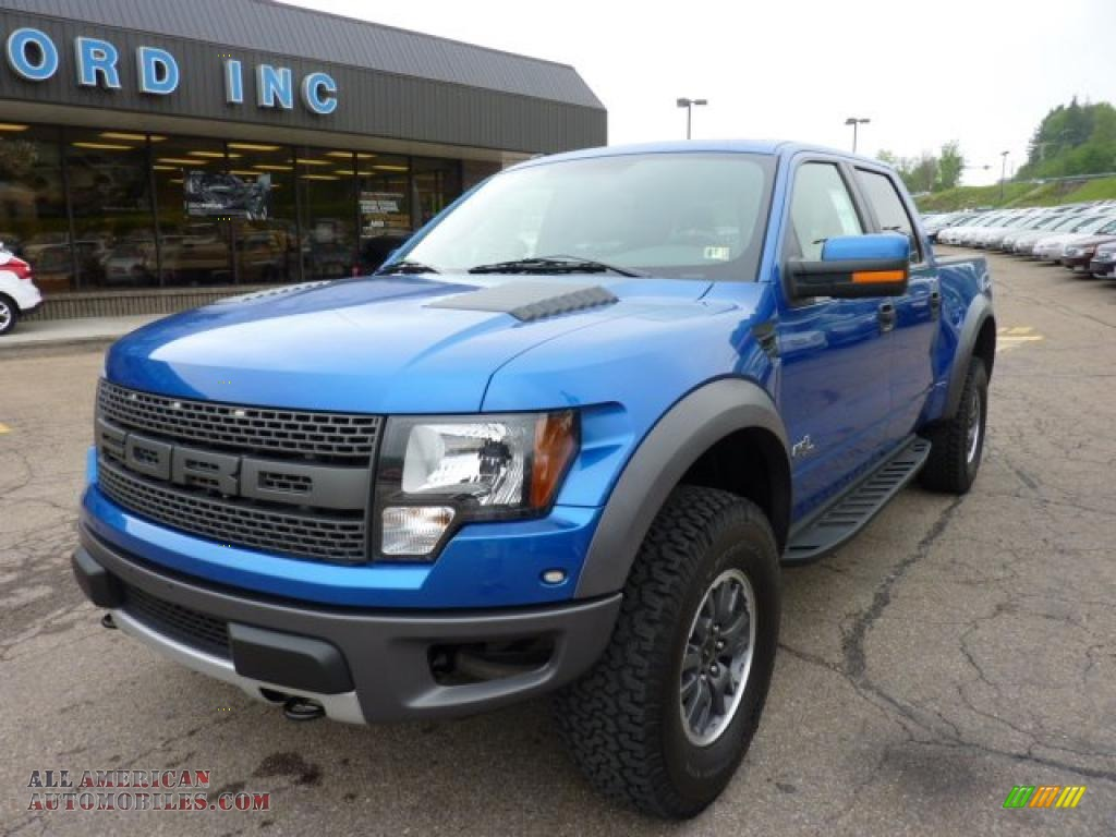 2011 ford f150 svt raptor supercrew 4x4 in blue flame metallic photo 8 b01054 all american. Black Bedroom Furniture Sets. Home Design Ideas