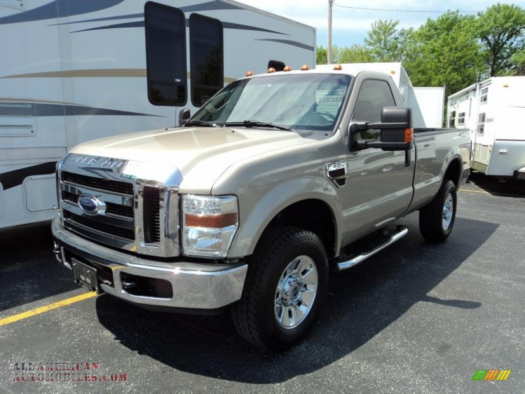2008 ford f350 super duty xlt regular cab 4x4 in pueblo gold metallic photo 2 a48947 all. Black Bedroom Furniture Sets. Home Design Ideas