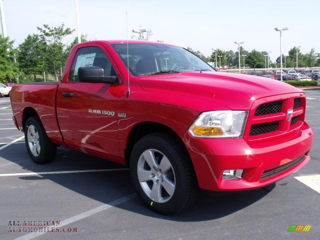 2011 dodge ram 1500 express regular cab in flame red photo 4 611135 all american. Black Bedroom Furniture Sets. Home Design Ideas