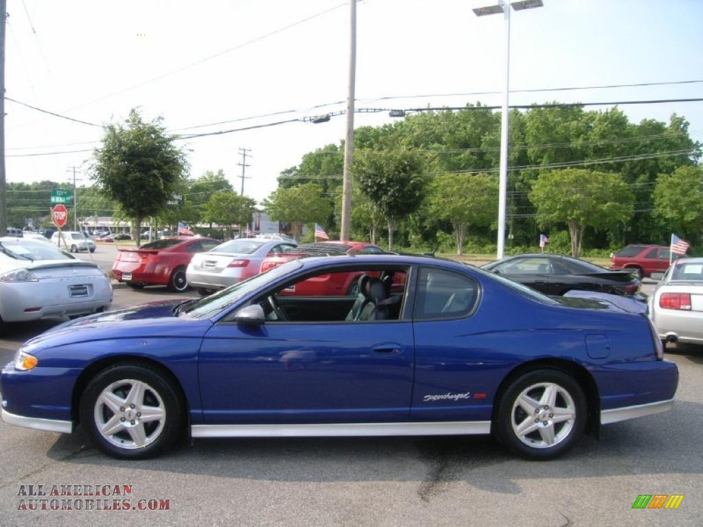 2005 chevrolet monte carlo supercharged ss in laser blue metallic photo 2 283186 all. Black Bedroom Furniture Sets. Home Design Ideas