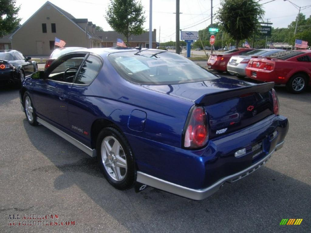 2005 chevrolet monte carlo supercharged ss in laser blue metallic photo 3 283186 all. Black Bedroom Furniture Sets. Home Design Ideas