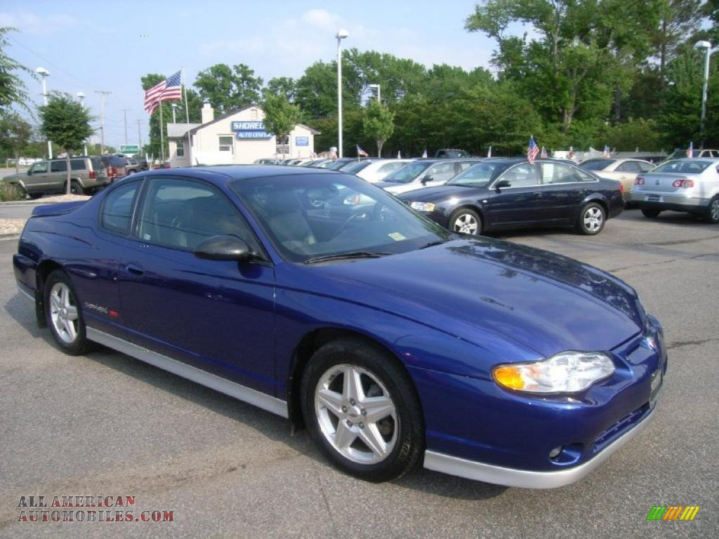2005 chevrolet monte carlo supercharged ss in laser blue metallic photo 7 283186 all. Black Bedroom Furniture Sets. Home Design Ideas