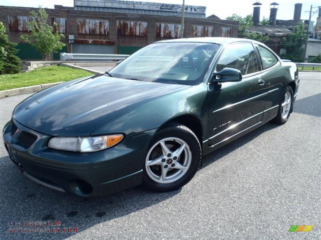 1999 Pontiac Grand Prix Gt Coupe In Dark Forest Green