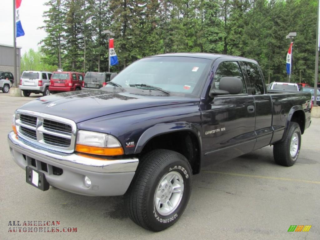 1999 Dodge Dakota Slt Extended Cab 4x4 In Deep Amethyst