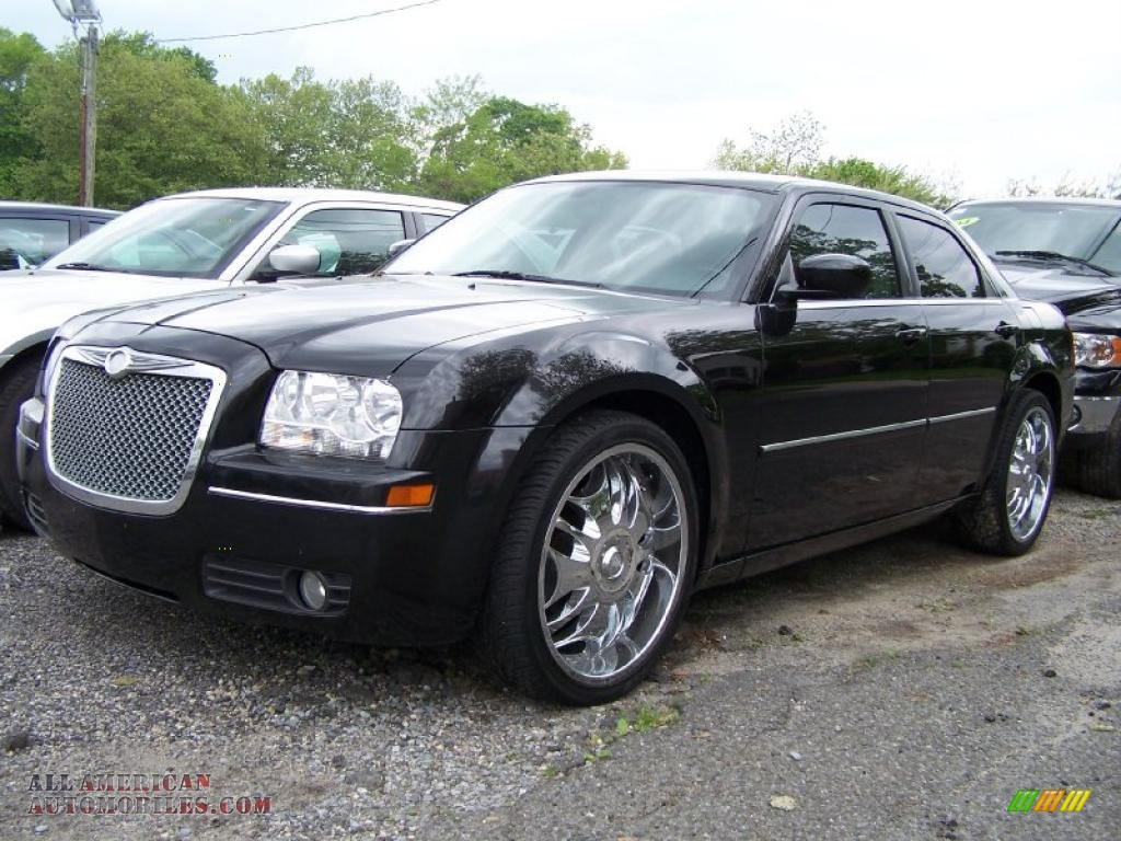 2007 chrysler 300 touring in brilliant black 649283 all american automobiles buy american. Black Bedroom Furniture Sets. Home Design Ideas