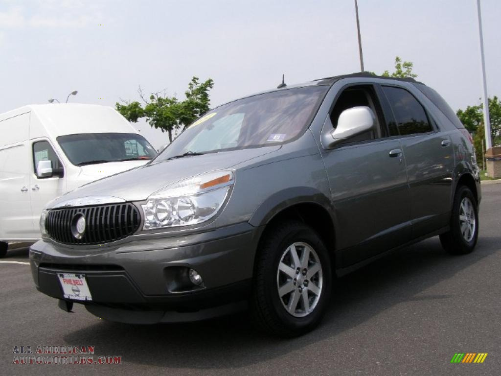 2004 buick rendezvous cxl awd in light spiral gray metallic 595335 all am. Cars Review. Best American Auto & Cars Review