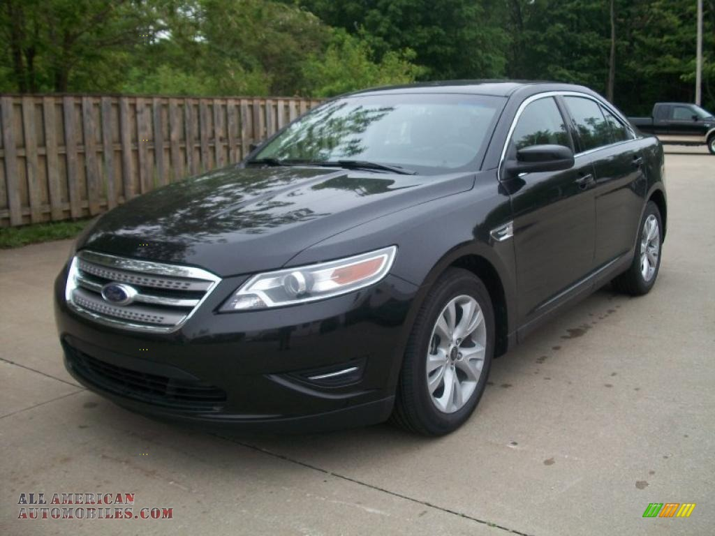 2011 ford taurus sel in tuxedo black 177216 all american automobiles buy american cars for. Black Bedroom Furniture Sets. Home Design Ideas
