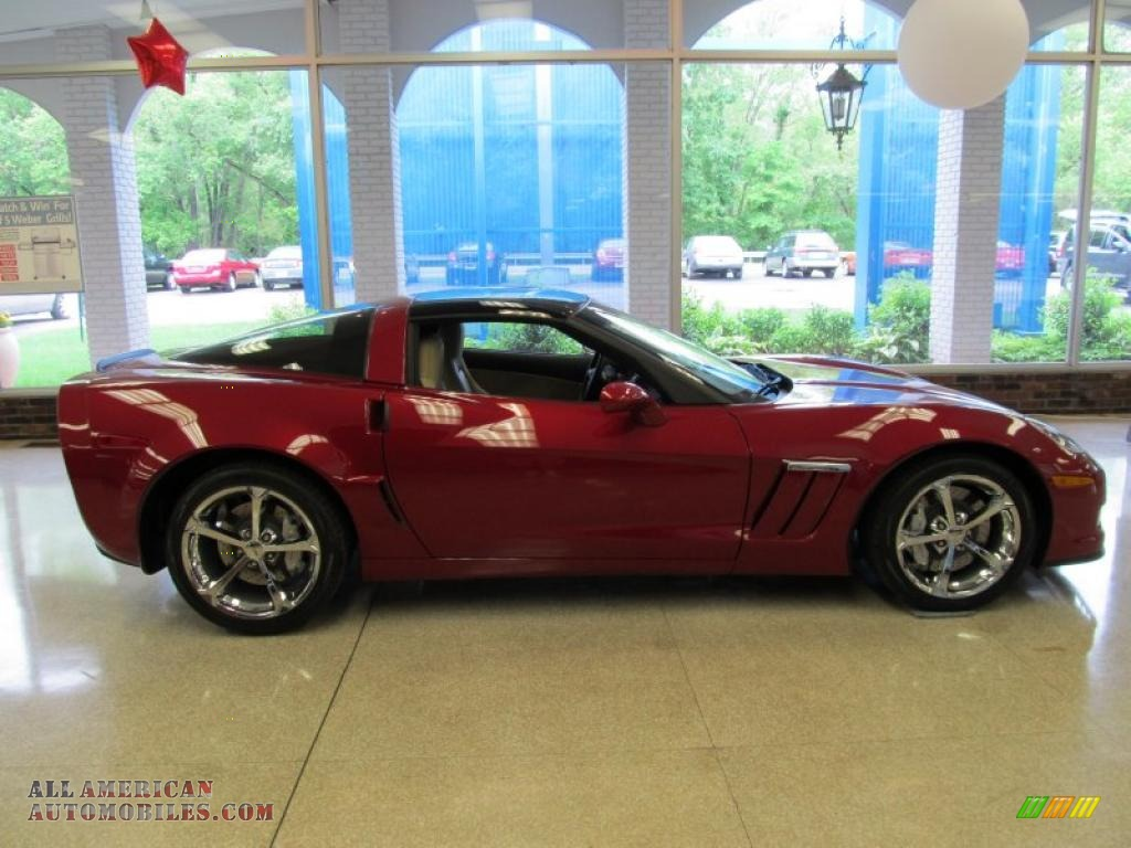 2011 Chevrolet Corvette Grand Sport Coupe In Crystal Red Tintcoat Metallic 110309 All