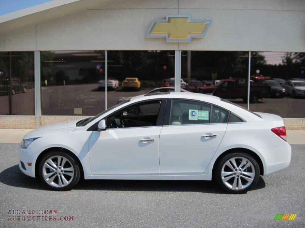 2011 Chevrolet Cruze Ltz In Summit White 149759 All