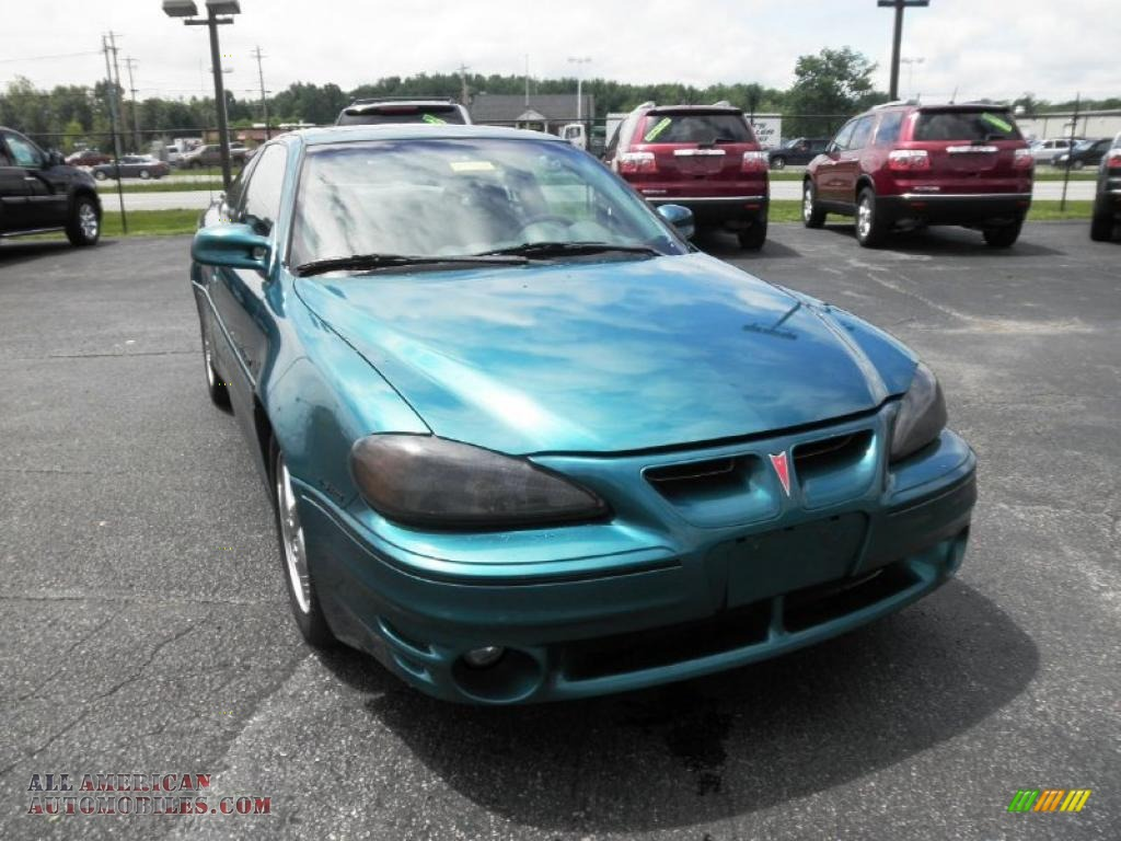 1999 pontiac grand am gt coupe in medium green blue metallic photo 2 864820 all american automobiles buy american cars for sale in america all american automobiles