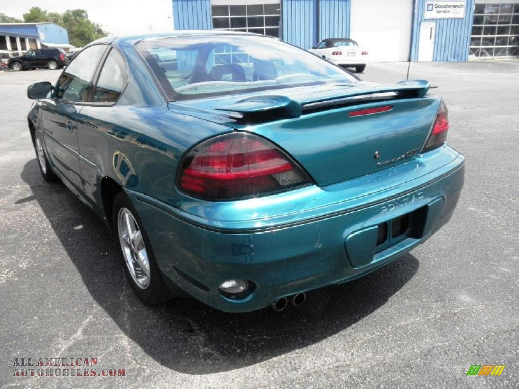 1999 Pontiac Grand Am Gt Coupe In Medium Green Blue