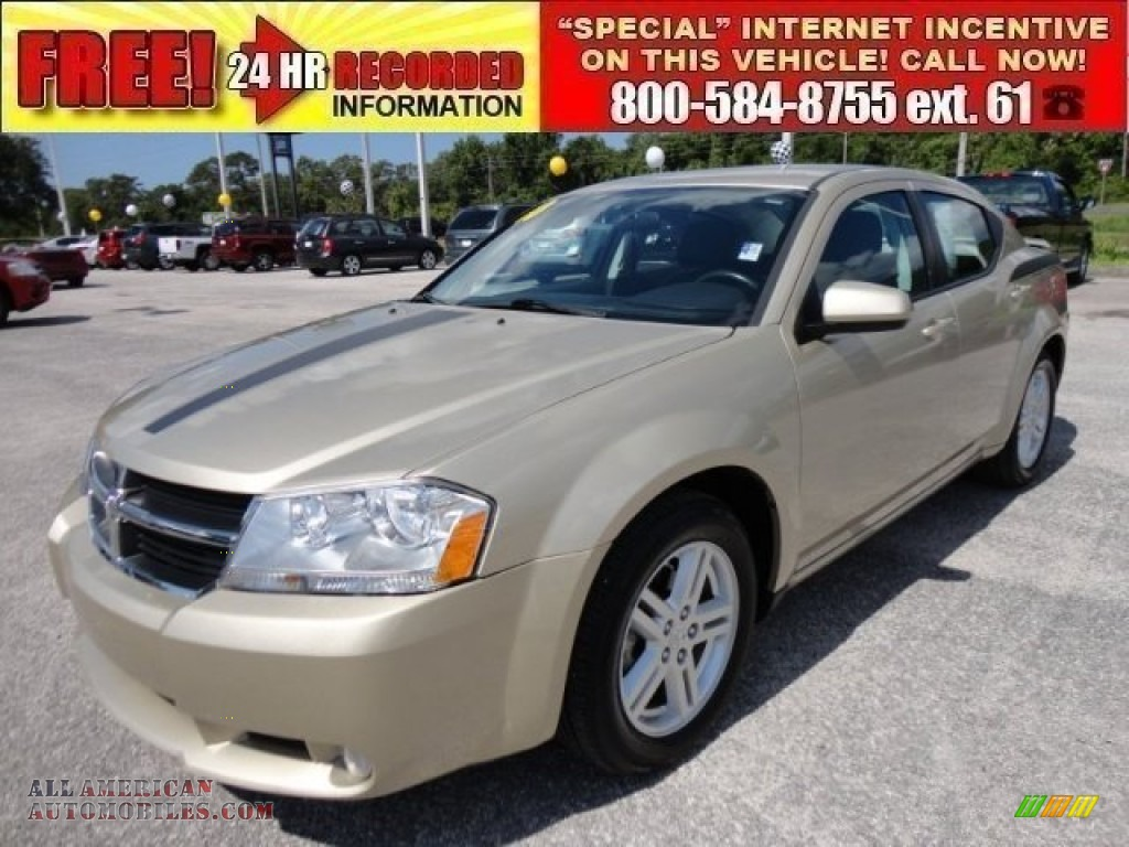 2010 dodge avenger r t in white gold 151727 all. Black Bedroom Furniture Sets. Home Design Ideas