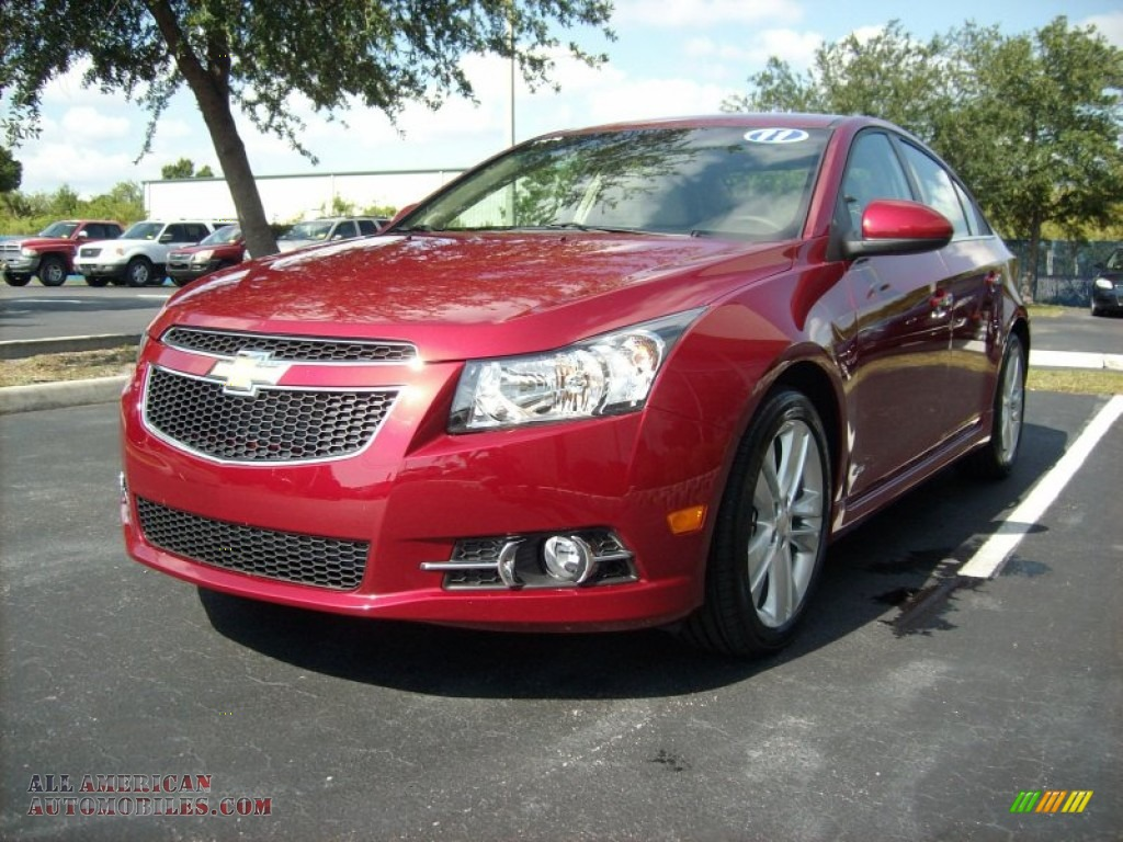 2011 chevrolet cruze ltz rs in crystal red metallic tintcoat photo 8 249058 all american. Black Bedroom Furniture Sets. Home Design Ideas
