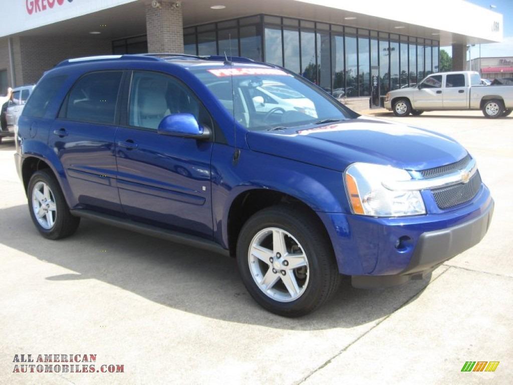 2006 Chevrolet Equinox Lt Awd In Laser Blue Metallic