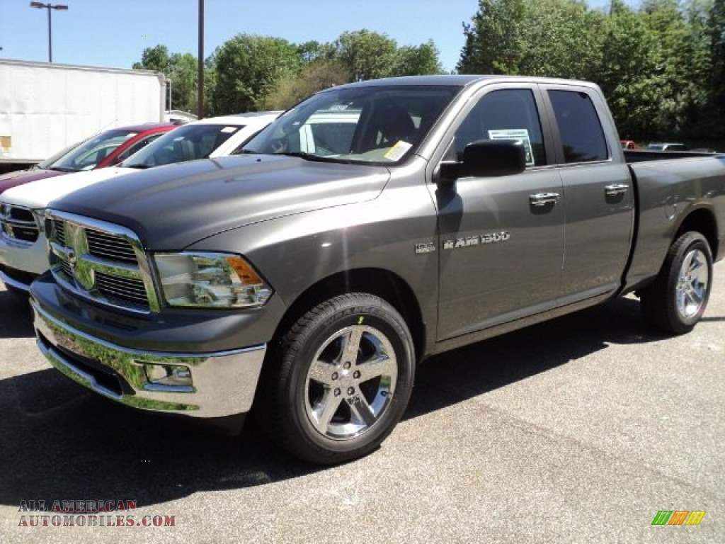 2011 dodge ram 1500 big horn quad cab 4x4 in mineral gray metallic 678353 all american. Black Bedroom Furniture Sets. Home Design Ideas