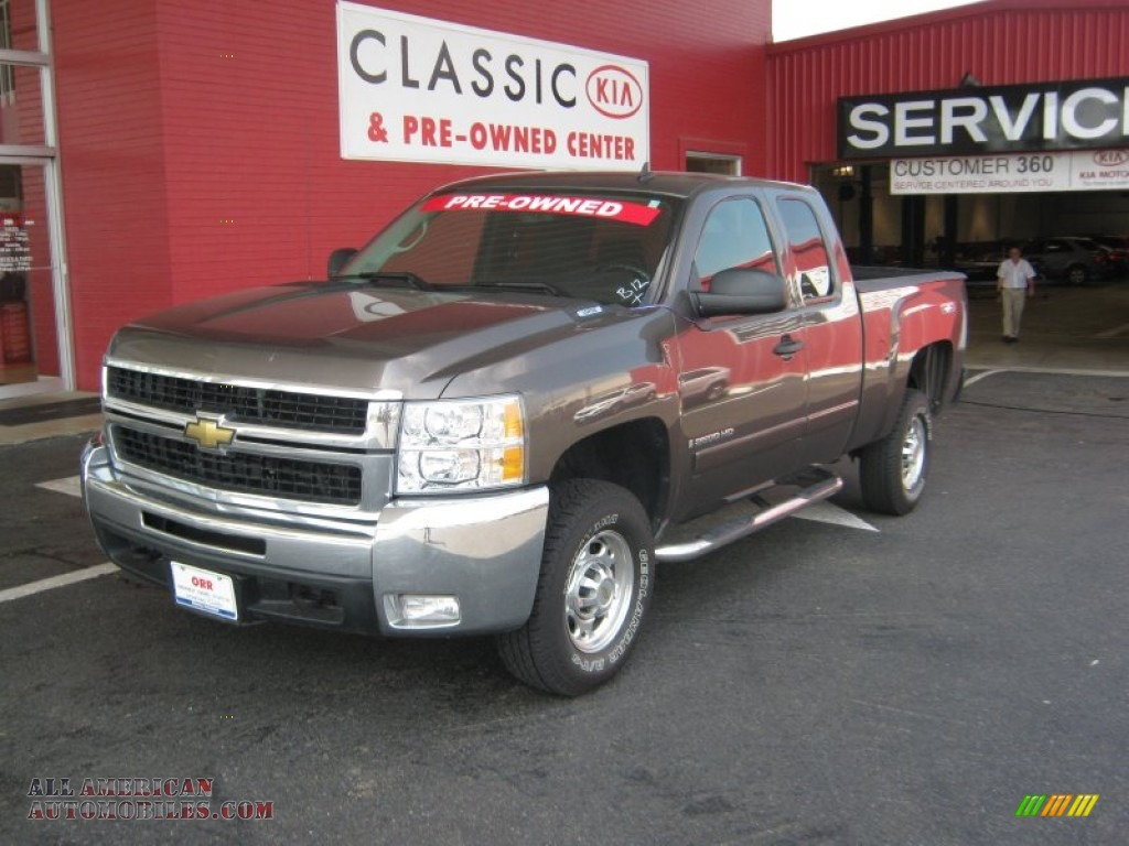 2008 chevrolet silverado 2500hd lt extended cab in desert brown metallic photo 2 211426 all. Black Bedroom Furniture Sets. Home Design Ideas