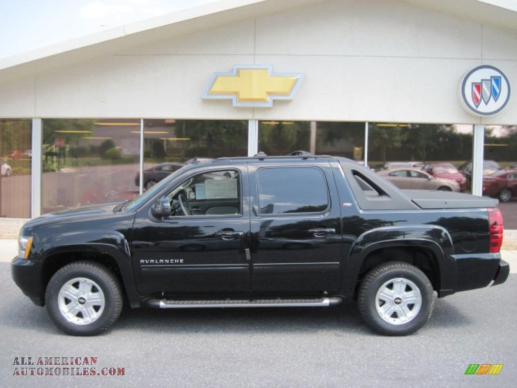2011 Chevrolet Avalanche Z71 4x4 In Black 241770 All