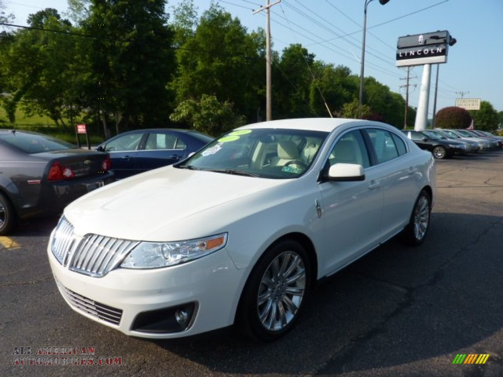 2010 lincoln mks awd in white suede 607959 all american automobiles buy american cars for. Black Bedroom Furniture Sets. Home Design Ideas