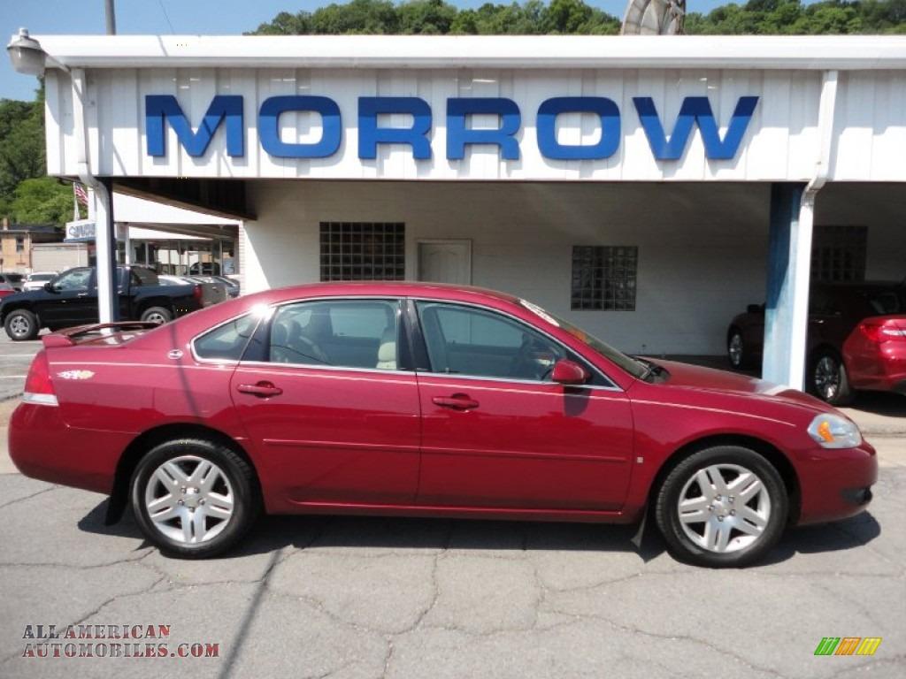2006 Chevrolet Impala Lt In Sport Red Metallic 274263