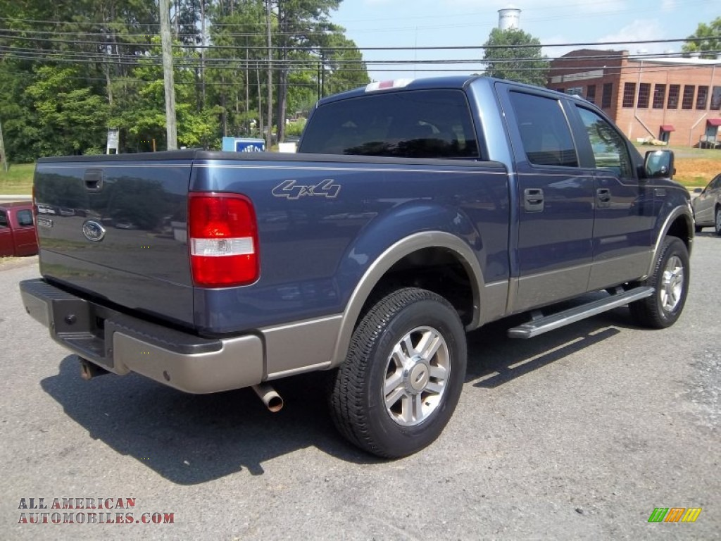 2005 ford f150 lariat supercrew 4x4 in medium wedgewood. Black Bedroom Furniture Sets. Home Design Ideas