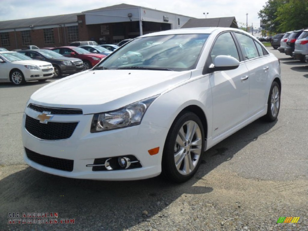 2011 Chevrolet Cruze Ltz Rs In Summit White 287558 All