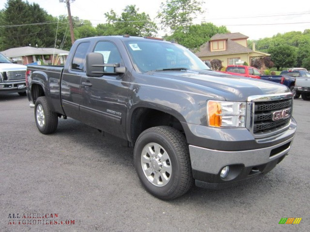 2011 gmc sierra 2500hd sle extended cab 4x4 in storm gray. Black Bedroom Furniture Sets. Home Design Ideas