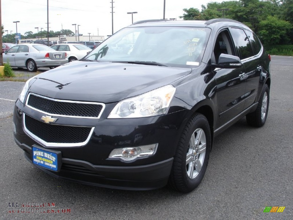 Pine Belt Chevy >> 2011 Chevrolet Traverse LT AWD in Black Granite Metallic - 200789 | All American Automobiles ...
