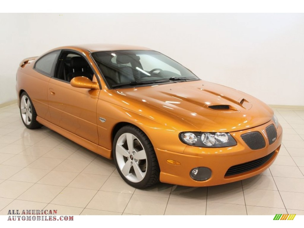 2006 Pontiac Gto Coupe In Brazen Orange Metallic 502253