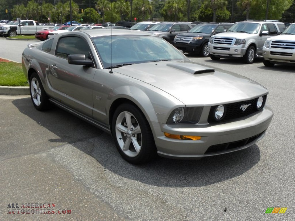 2008 ford mustang gt premium coupe in vapor silver metallic 171841 all american automobiles. Black Bedroom Furniture Sets. Home Design Ideas