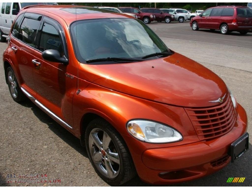 2003 chrysler pt cruiser dream cruiser series 2 in tangerine pearl photo 16 634551 all american automobiles buy american cars for sale in america all american automobiles