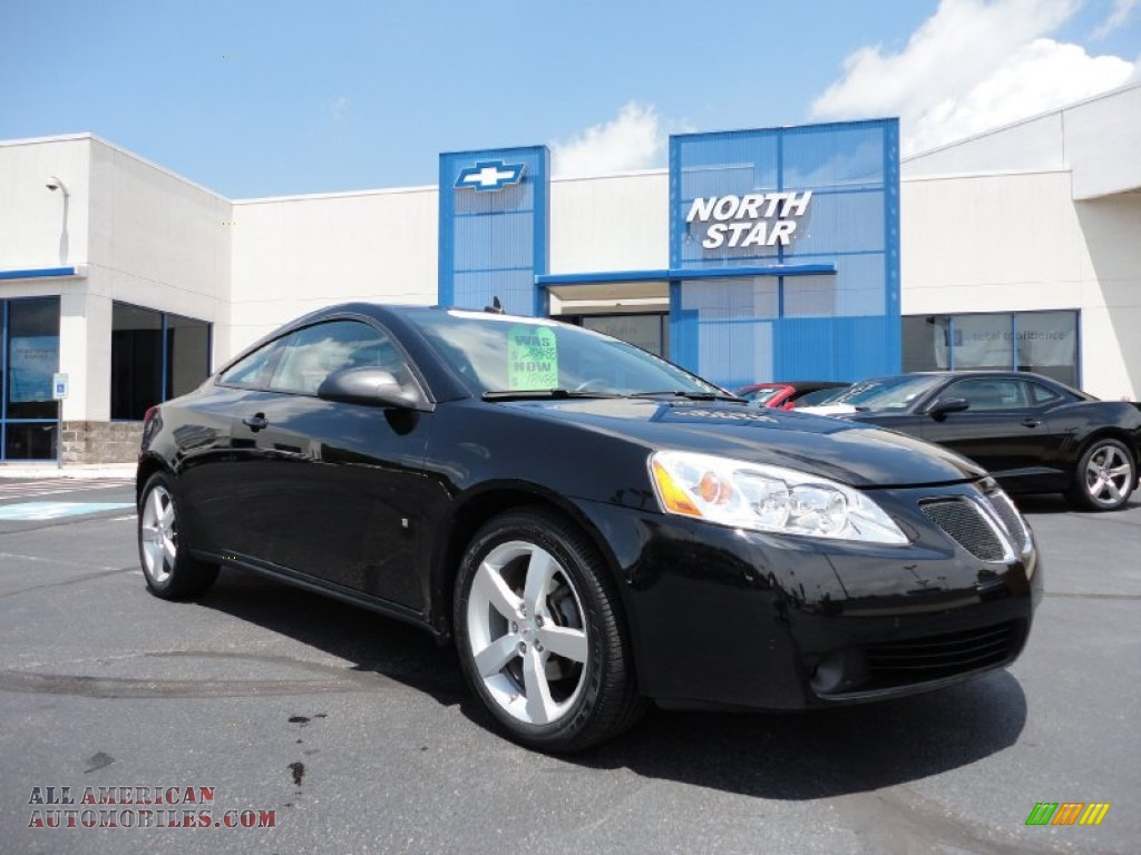 2008 Pontiac G6 Gt Coupe In Black 159455 All American