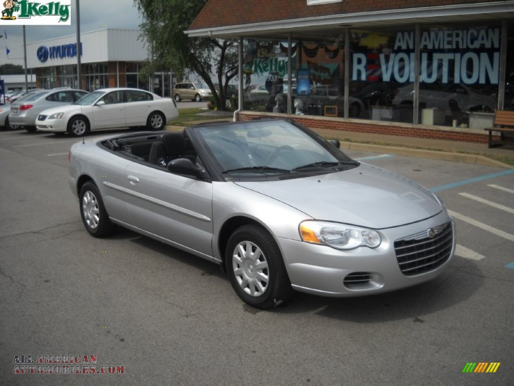 2004 chrysler sebring lx convertible in bright silver metallic. Cars Review. Best American Auto & Cars Review
