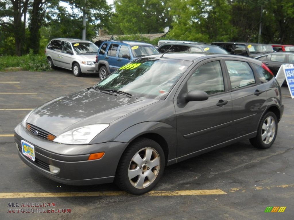 2002 ford focus zx5 hatchback in liquid grey metallic 177540 all american automobiles buy. Black Bedroom Furniture Sets. Home Design Ideas