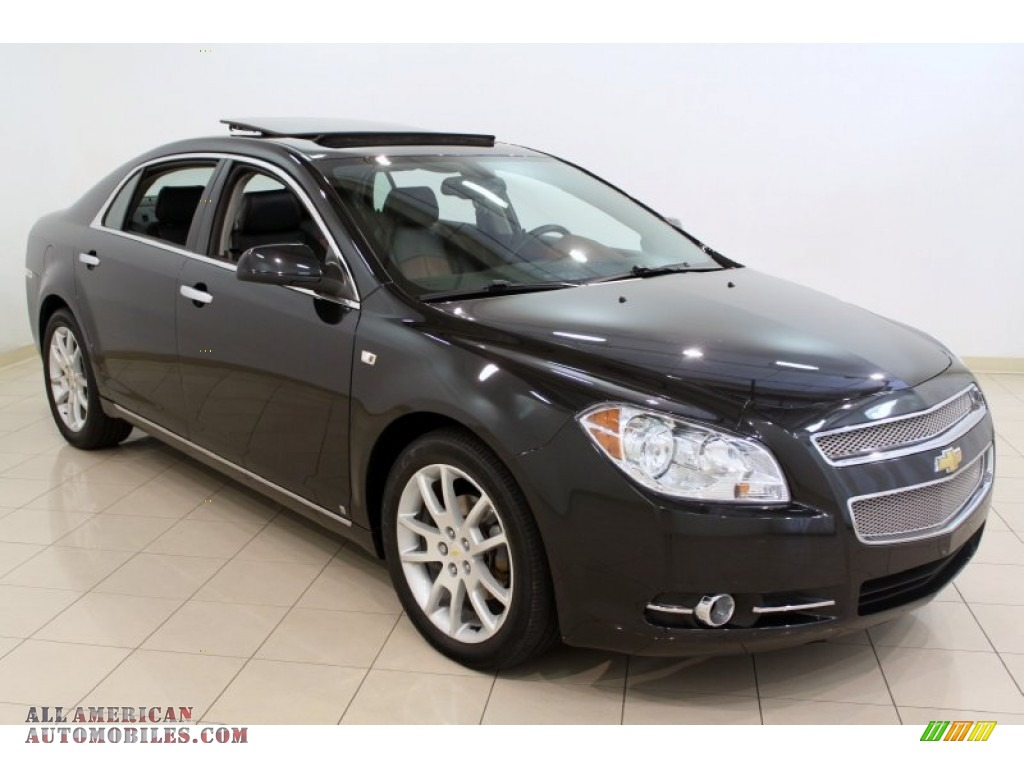 2008 chevrolet malibu ltz sedan in black granite metallic 216175 all american automobiles. Black Bedroom Furniture Sets. Home Design Ideas