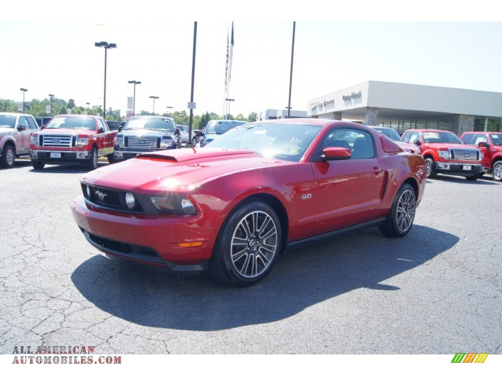 2012 ford mustang gt premium coupe in red candy metallic photo 6 231548 all american. Black Bedroom Furniture Sets. Home Design Ideas