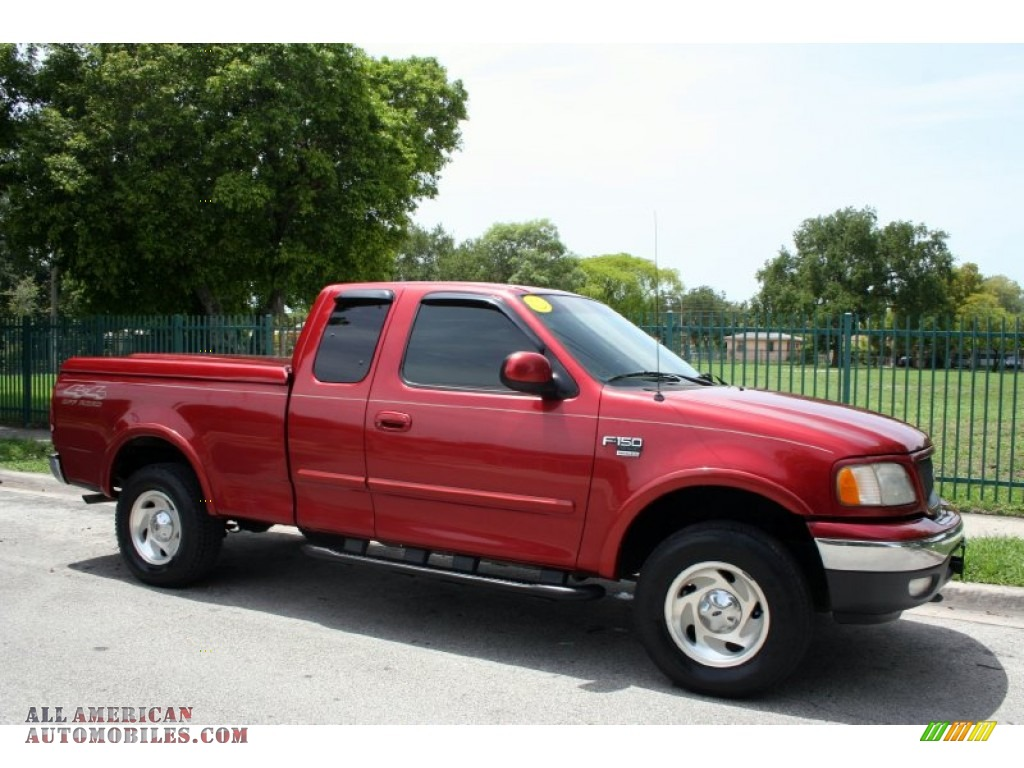 2000 ford f150 xlt extended cab 4x4 in toreador red. Black Bedroom Furniture Sets. Home Design Ideas