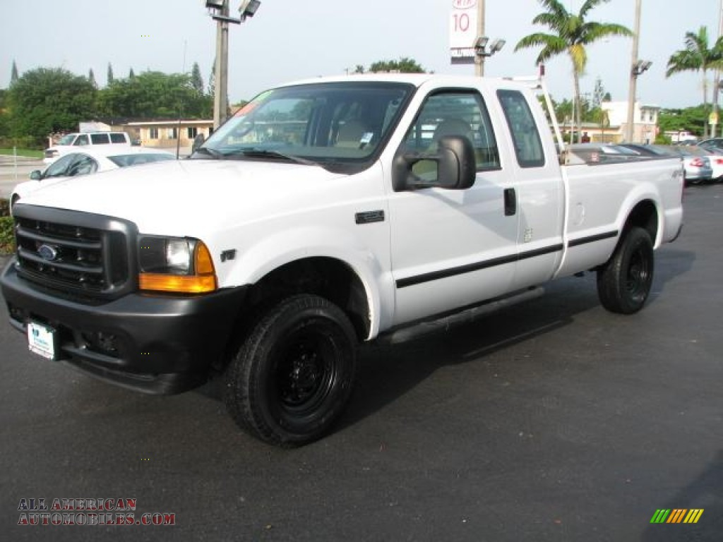 2001 ford f250 super duty xl supercab 4x4 in oxford white photo 5 c69184 all american. Black Bedroom Furniture Sets. Home Design Ideas