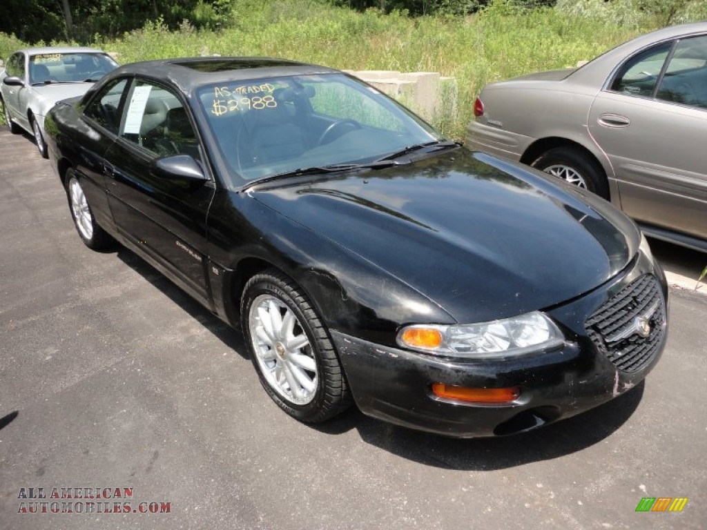 1999 chrysler sebring lxi coupe in black clearcoat. Cars Review. Best American Auto & Cars Review