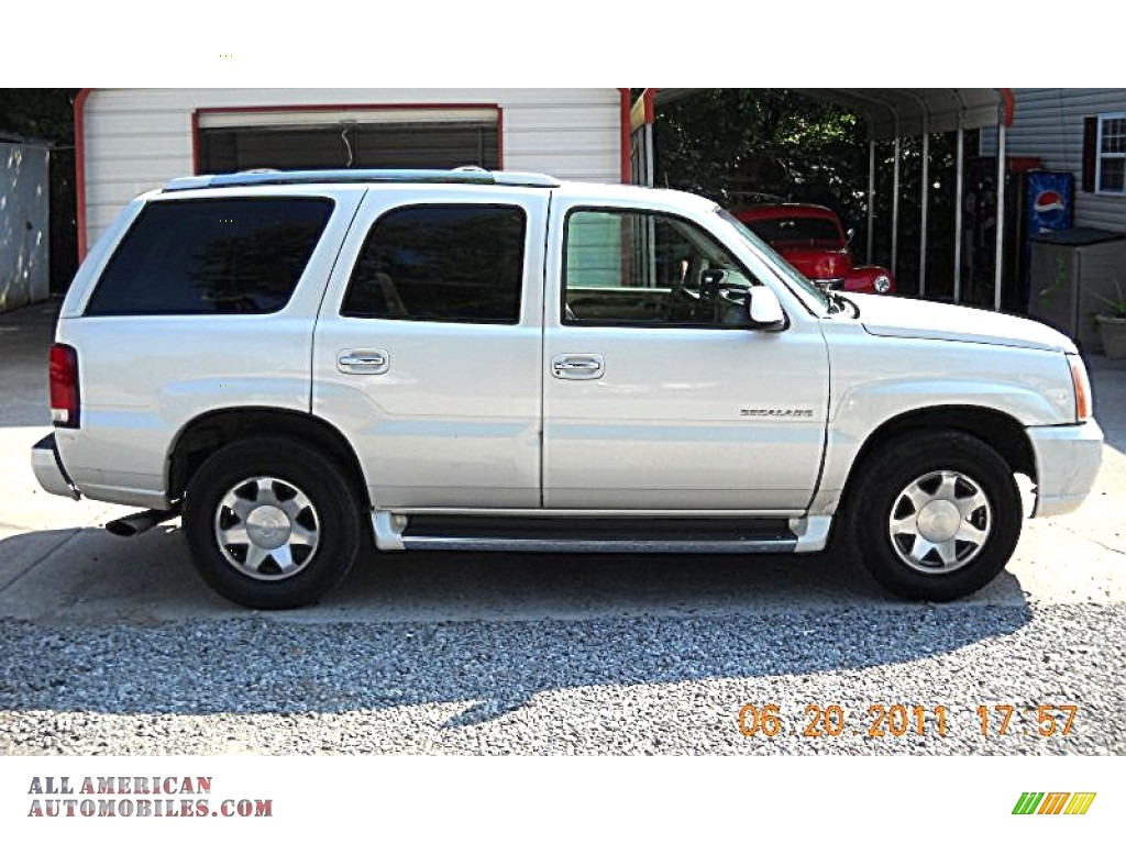 2002 Cadillac Escalade Awd In White Diamond 142838 All