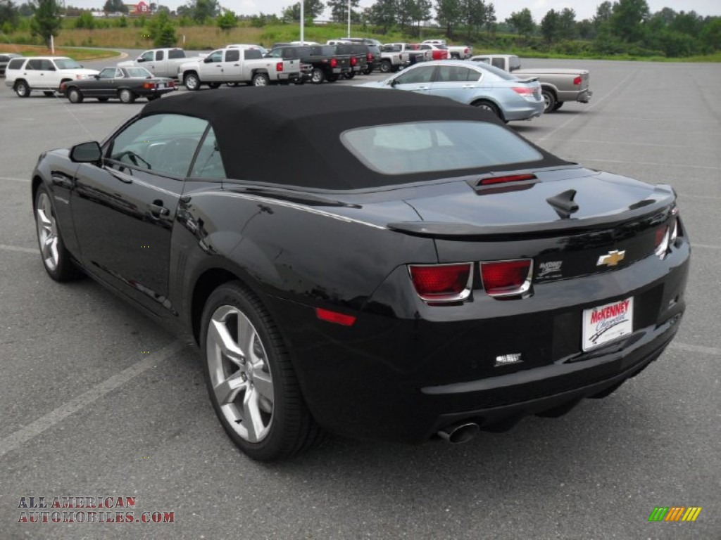 2011 chevrolet camaro ss rs convertible in black photo 2 202968 all american automobiles. Black Bedroom Furniture Sets. Home Design Ideas
