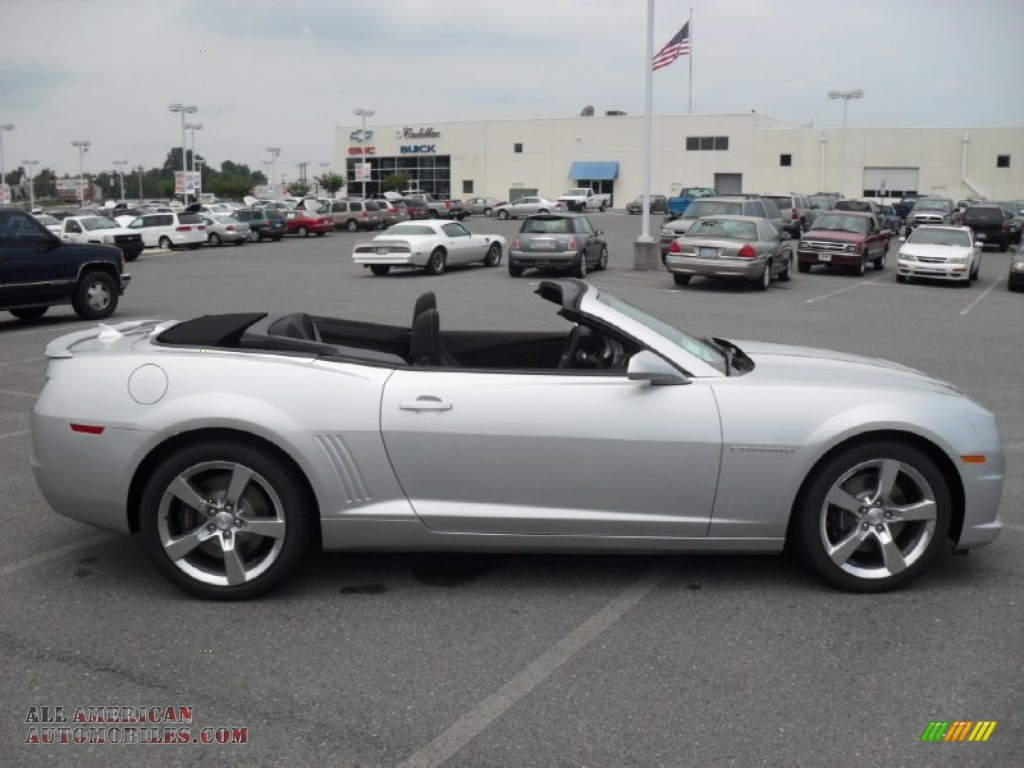 2011 Chevrolet Camaro Ss Rs Convertible In Silver Ice