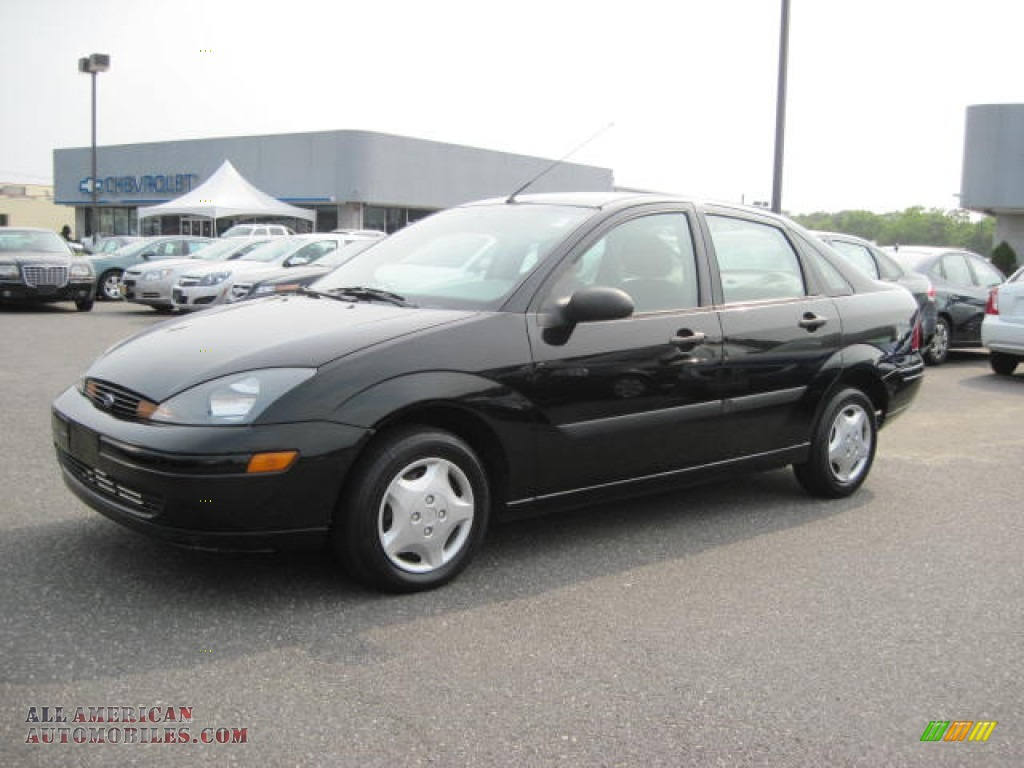 2004 ford focus lx sedan in pitch black photo 2 165317 all american automobiles buy. Black Bedroom Furniture Sets. Home Design Ideas