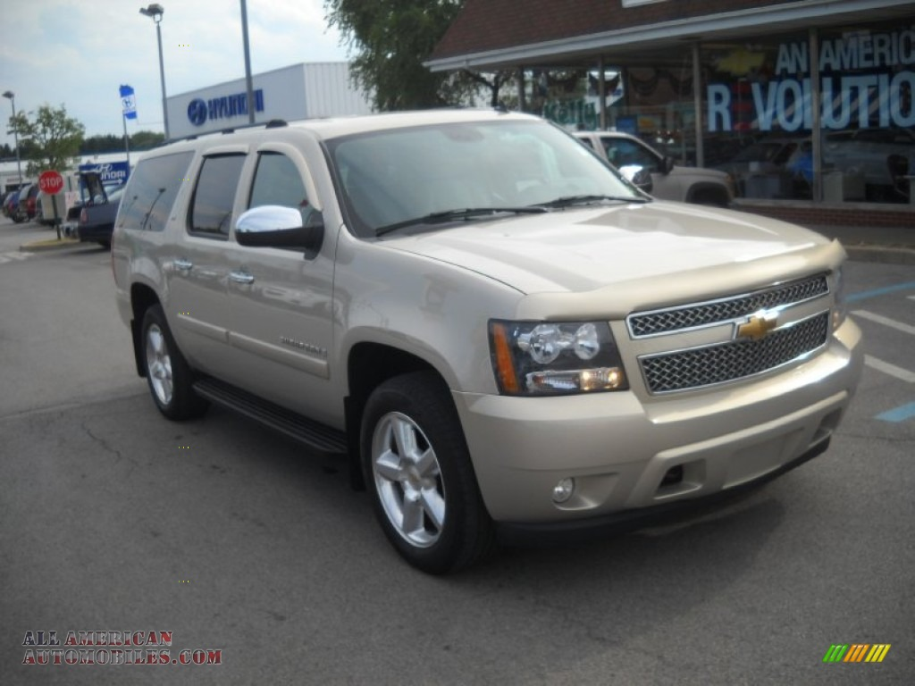2007 chevrolet suburban 1500 ltz 4x4 in gold mist metallic 277865 all american automobiles. Black Bedroom Furniture Sets. Home Design Ideas