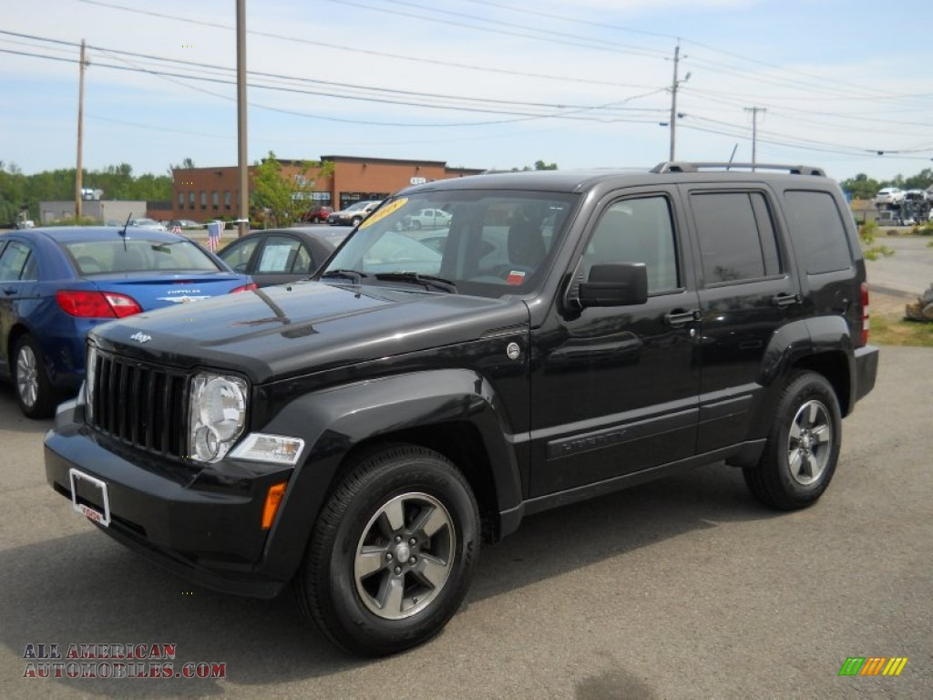 2008 liberty sport 4x4 brilliant black crystal pearl pastel slate. Cars Review. Best American Auto & Cars Review